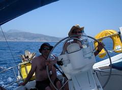 Adam, under sail