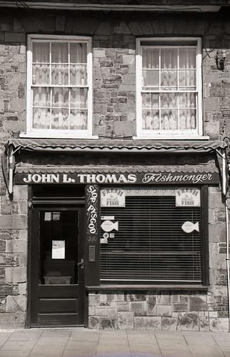 John L. Thomas, Fishmonger, Castell Newydd Emlyn