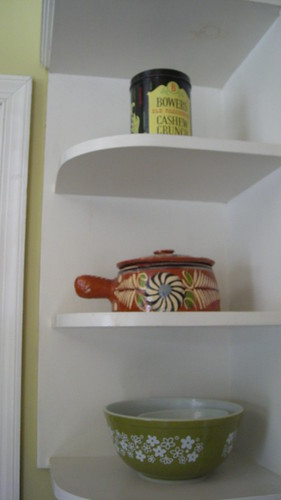 corner: kitchen shelf