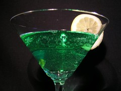 my cocktail (elisabatiz) Tags: green bar drink cocktail cheers ~vivid~ excapture