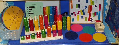 Fractions display