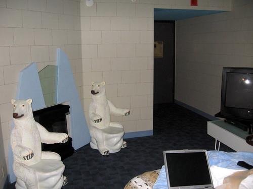 Arctic Utopia Roon: Clarion Philadelphia - Bear Chairs