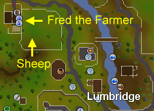runescape quest guide sheep shearer start