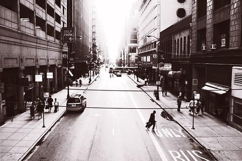 Chicago dalla metropolitana