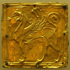 Gold Griffin, Delphi (greekgeek) Tags: greek gold delphi ancientart greekart archaicperiod griffingreece