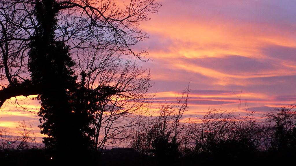 York sunset