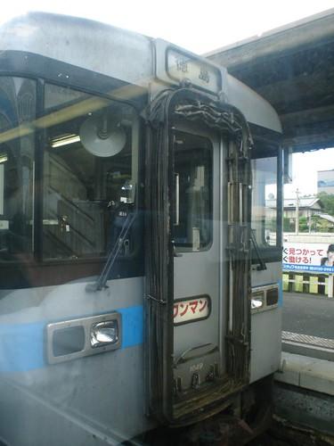 JR Shikoku one-man train