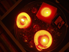 candlelight glow