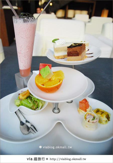 【台中下午茶推薦】悠閒的英式下午茶~印月創意東方宴下午茶18