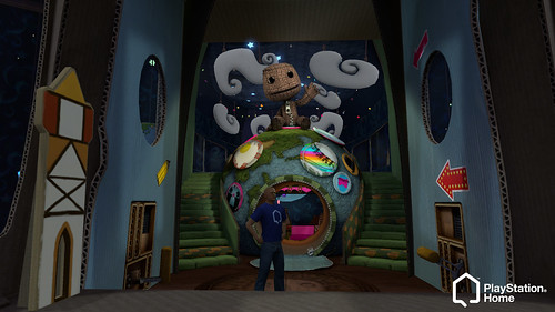 LittleBigPlanet Pod in Home for PS3