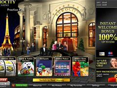EuroCity Casino Lobby