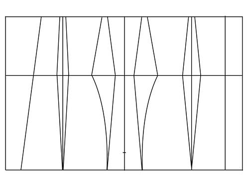 Underbust corset pattern - 25