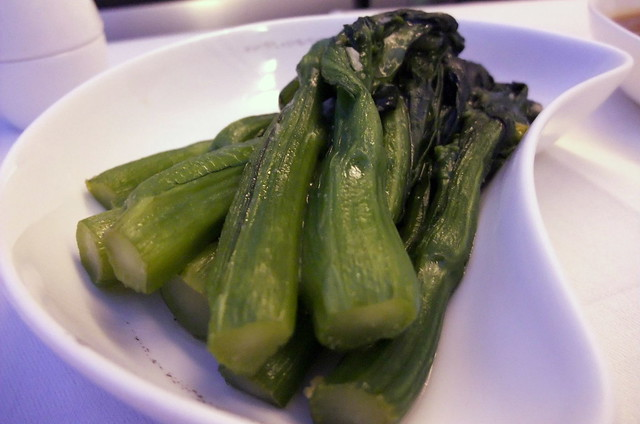 Stir-Fried Choy Sum with Garlic