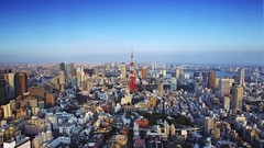 [從我爸那兒偷來的] Tokyo tower (*Victoria オウ) Tags: tower japan pentax 日本 tokyotower 東京 東京鐵塔 k7