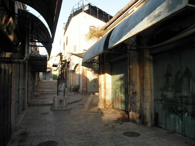 Jerusalem Old City at First Light