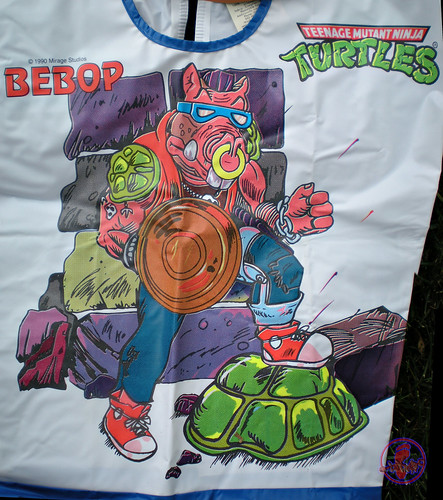 "Collegeville Costumes :: TEENAGE MUTANT NINJA TURTLES { OPPOSITION FORCES! } : ""BEBOP"" TINY TOT Costume with Mask viii (( 1990 ))"