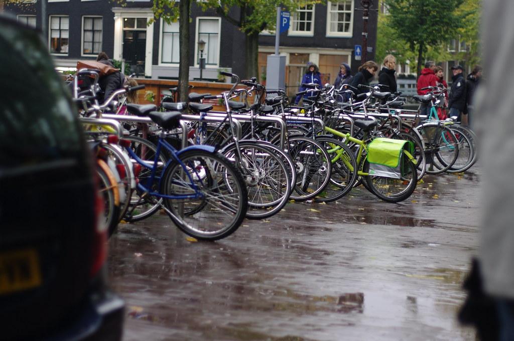 rainy Amsterdam