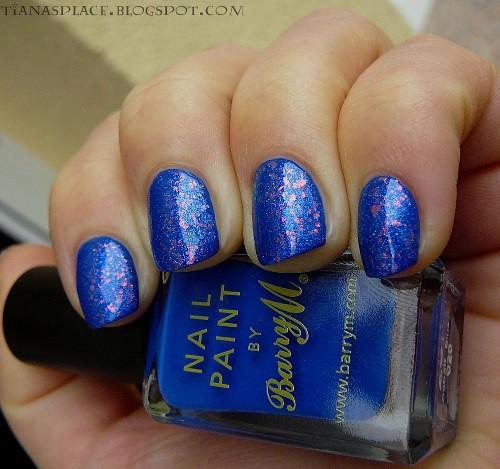 Barry M - Cobalt Blue + Nfu-OH 53 #3