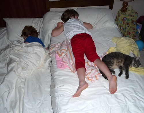 Princess sleeping with the boys