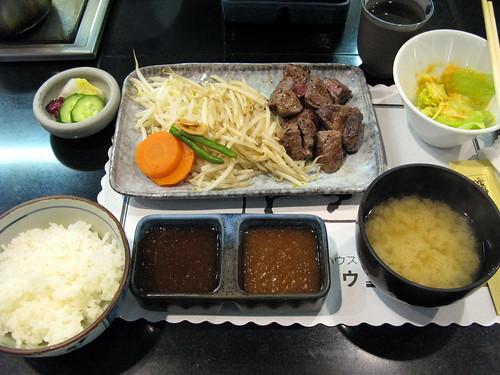 松阪牛鐵板燒套餐