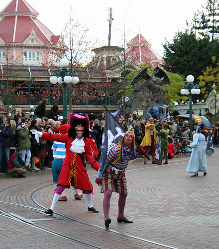Captain Hook and his crew