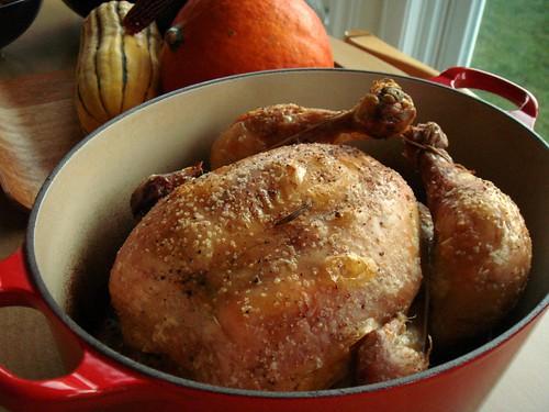 Roast Chicken For Les Paresseux