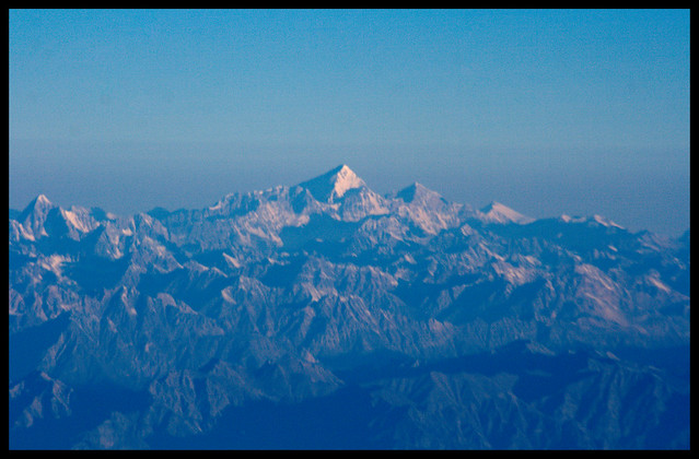 Everest in the early morning light