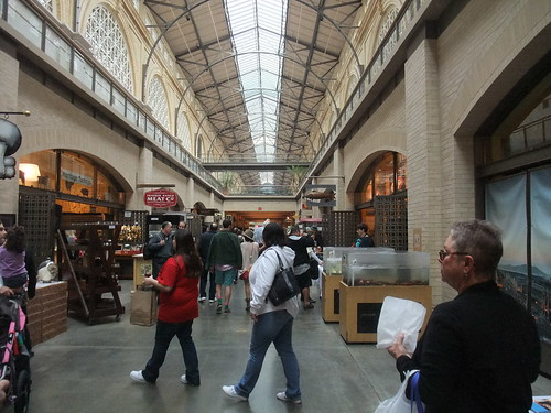 SFO Day 2: Inside the Ferry Market Building