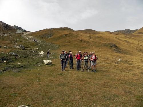 Descente du Col de l'Aiguille