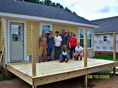 a State Street Village home nears completion (by: Builders of Hope)