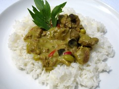 Migros Annas Best Thai Green Beef-Curry