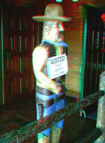Cowboy Statue (3D)