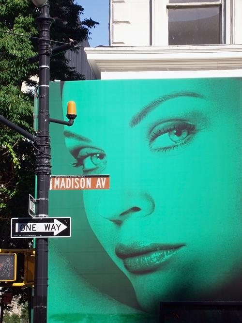 Madison Avenue scene