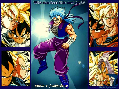1 The Gohan Goku Vegeta Trunks fusion dbz gt dragonball z animie hentai ...