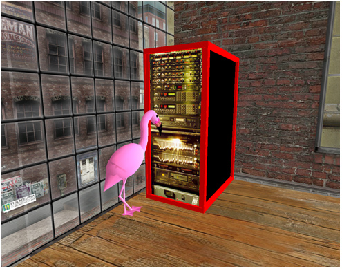 Mr. Flamingo IZ IN UR RACK FX