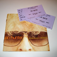Tickets To Rock (epiclectic) Tags: cd ticket sanjuancapistrano mottthehoople ianhunter thefuturessobrightigottawearshades tfsbigws