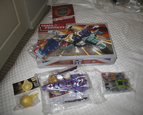 Botcon - Day 1 - My haul from check-in.