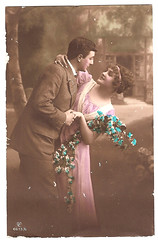 Vintage postcard (CGoulao) Tags: old two classic love portugal vintage paper post mail antique amor postcard duo valentine double romance lovers card oldphoto romantic postal greetings papel papier valentin par namoro ancienne antigo romntico dois clssico namorado valentim correio diadosnamorados felicidades postalcard tarjetapostal postkard cartepostal bilhetepostal