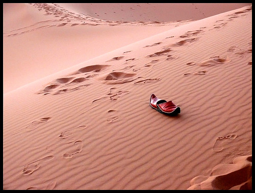 Pisadas en el desierto - Footsteps in the desert