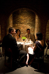 April Wedding (The Foundry L.I.C.) Tags: dinner archways thefoundry foldingchairs tourbook alcoves dinnertables roundtables naturallydelicious thefoundryinterior thefoundrylic naturallydeliciouscatering