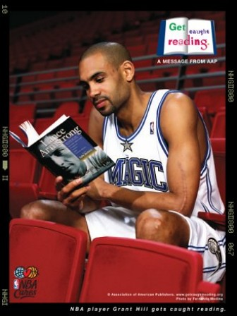 Grant Hill reads