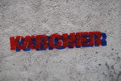 Paris (Zerbi Hancok) Tags: street paris france wall politique karsher sarkoland