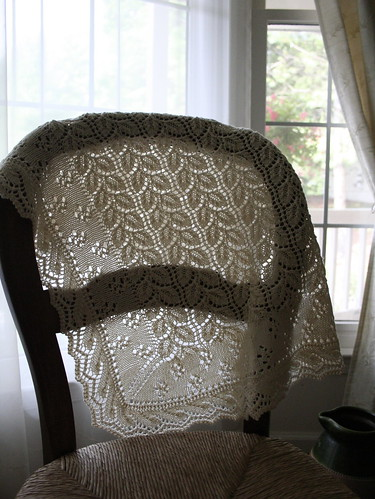 Christening shawl
