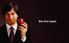 Bite That Apple Steve Jobs Desktop