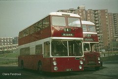 More 70's joy from Wigan (Lady Wulfrun) Tags: bus buses rear engines northern counties wigan gmpte selnec atlantean leyalnd an68