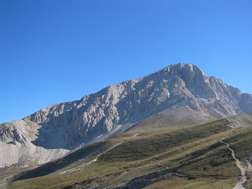 Corno Grande, highest and most spectacular point on the Italian peninsula