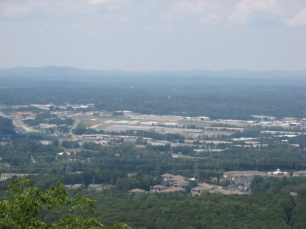 View of the North Georgia Mountains