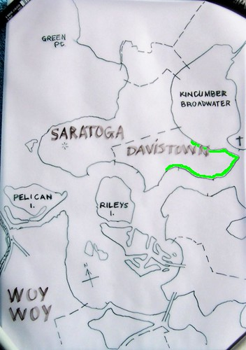 Saratoga, Davistown & Yattalunga map