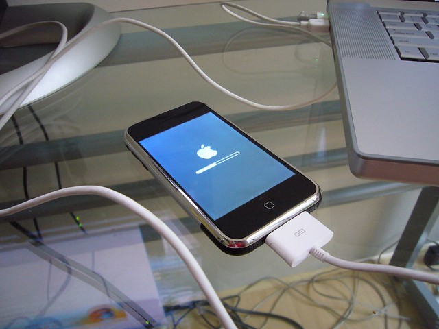iPhone firmware/software update 1.0.1