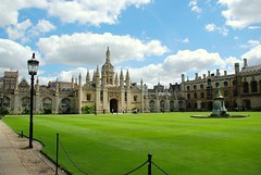 Cambridge - King's College courtyard